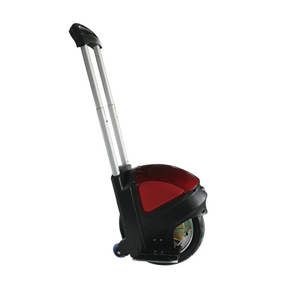 Solowheel with trolley